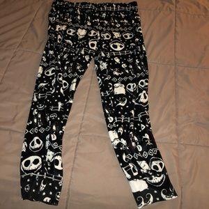 The nightmare before Christmas sleep leggings NWOT